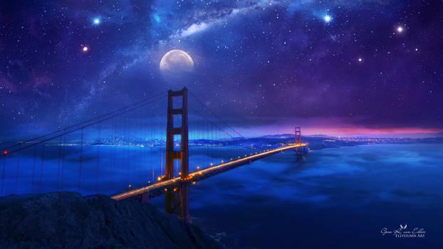 Golden Gate Bridge by Ellysiumn