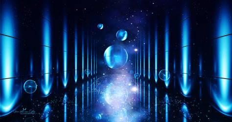 Cosmic Spheres by Ellysiumn
