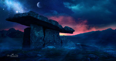 The Dolmen by Ellysiumn