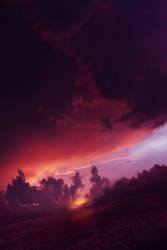 Burn sunset by Ellysiumn