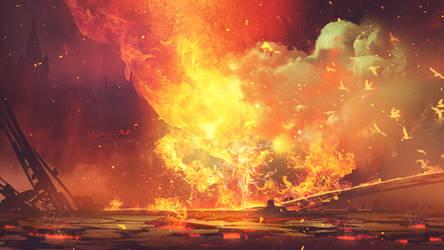Born in fire by Ellysiumn
