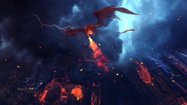 Dragon's Fury by Ellysiumn