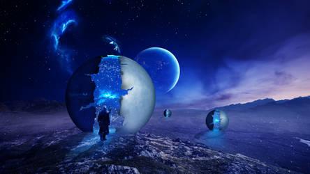 Ancestral Spheres by Ellysiumn