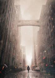Ash rain II by Ellysiumn