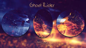 Ghost Rider mosaic