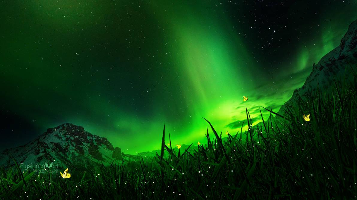 Emerald Light by Ellysiumn