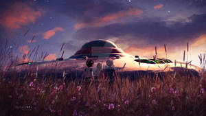 A UFO in the meadow ~ Daily Deviation