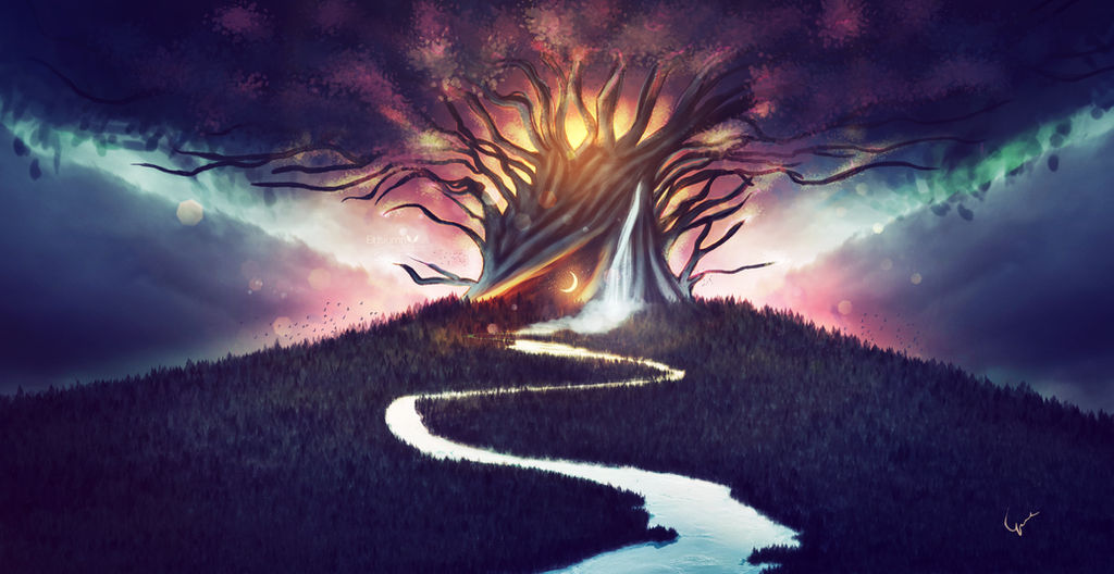 The Tree of Life by Ellysiumn