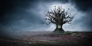 The clock tree by Ellysiumn