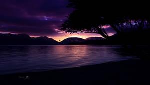 Pacific dusk