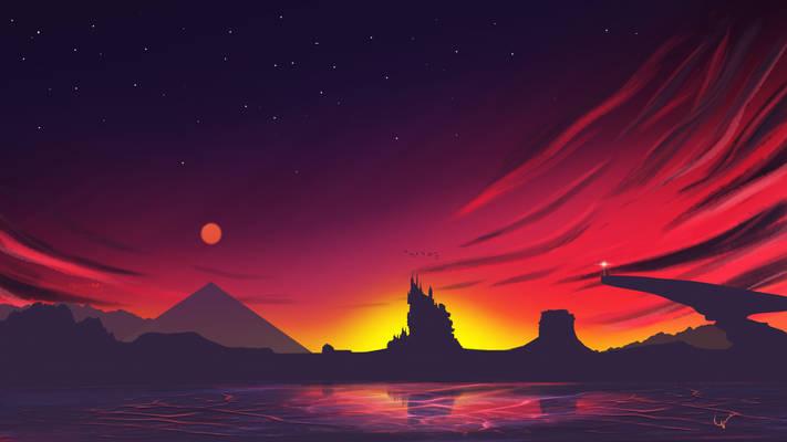 Flaming kingdom