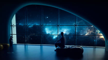 Above the nebulas