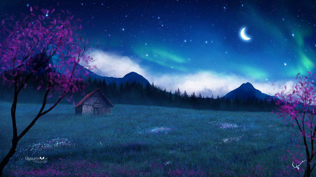 The abandoned cabin by Ellysiumn