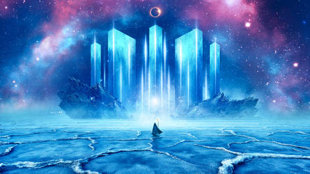 Ice Temple by Ellysiumn