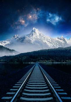 Railway road to the stars