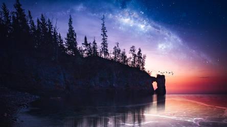Stellar sunset