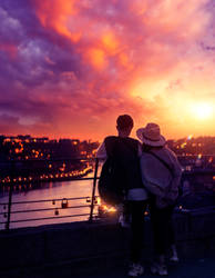 Valentines Day Sunset