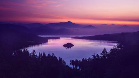 Pearly lake