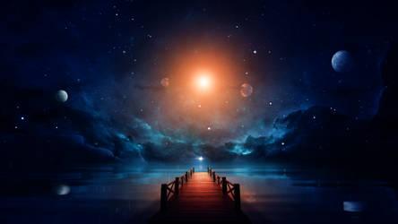 Cosmic bridge