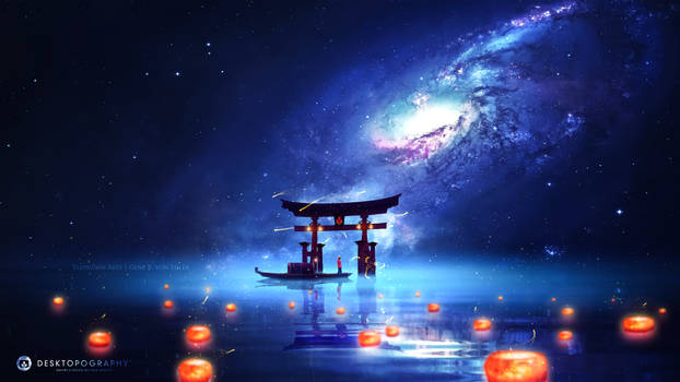 The cosmic Torii ~ Desktopography