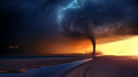 Sudden tornado