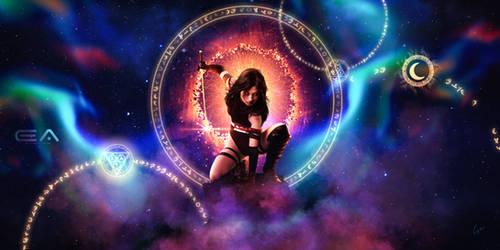 The arcane warrior by Ellysiumn
