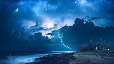 Fierce storm