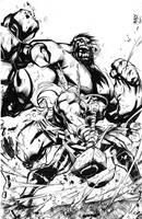 Hulk Smashem by benjonesart