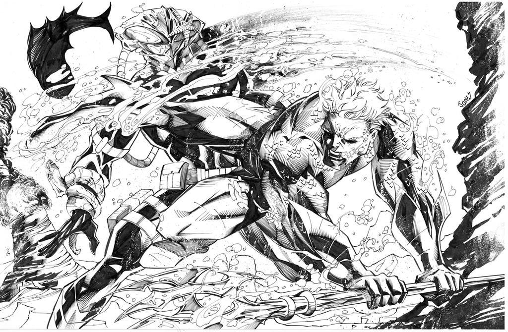 Aquaman commission complete by benjonesart