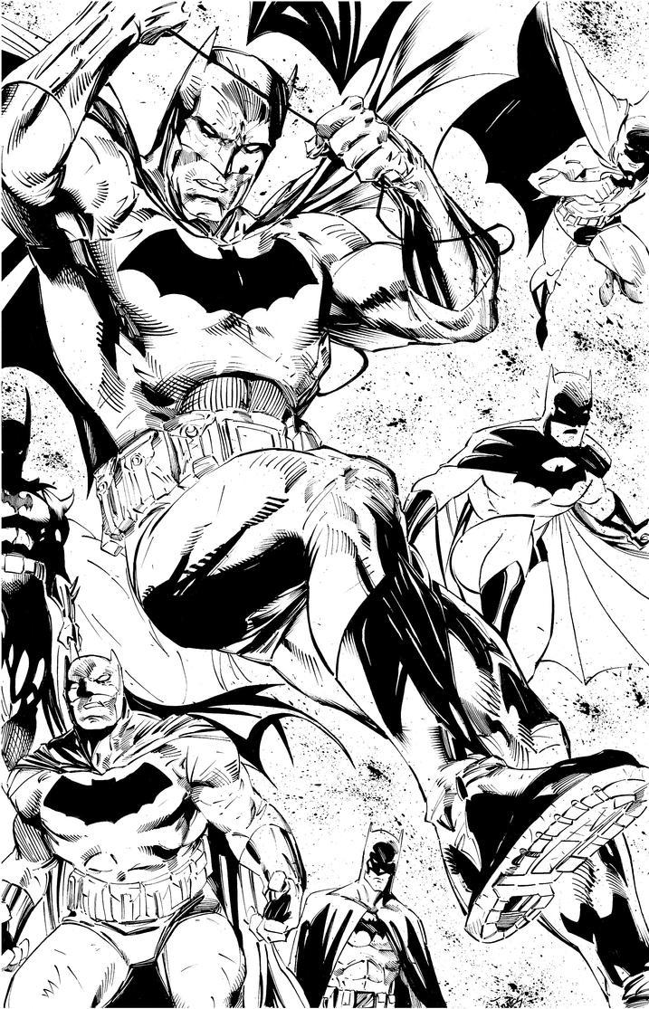 Batmen by benjonesart