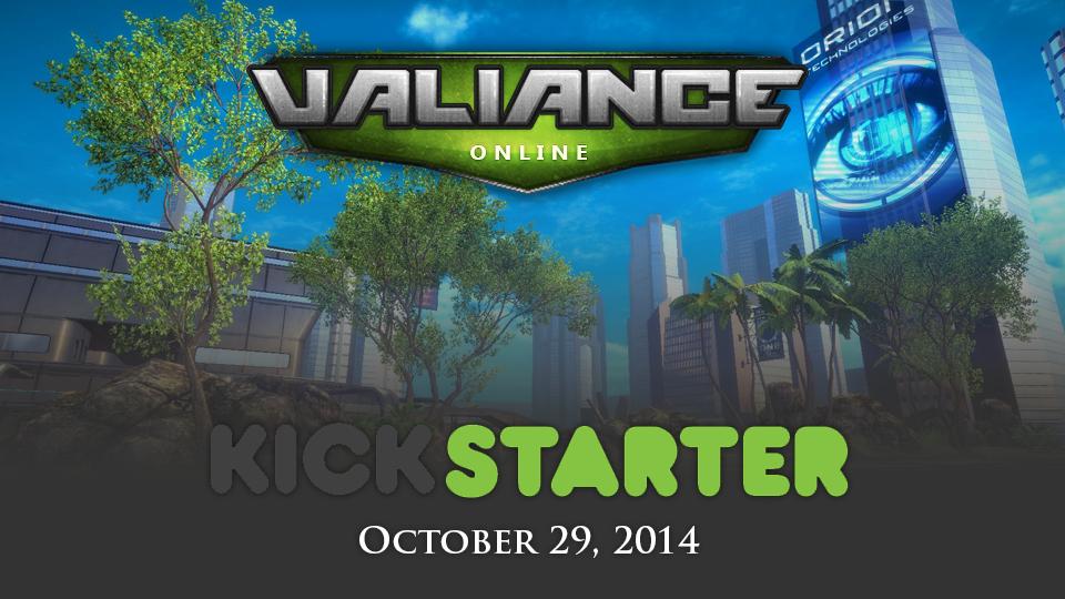 Valiance Online Kickstarter by benjonesart