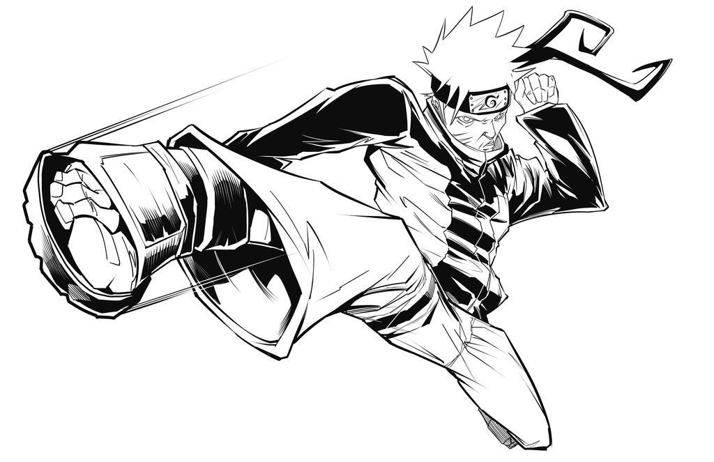 Naruto by benjonesart