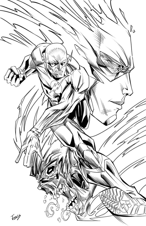 Flash by benjonesart