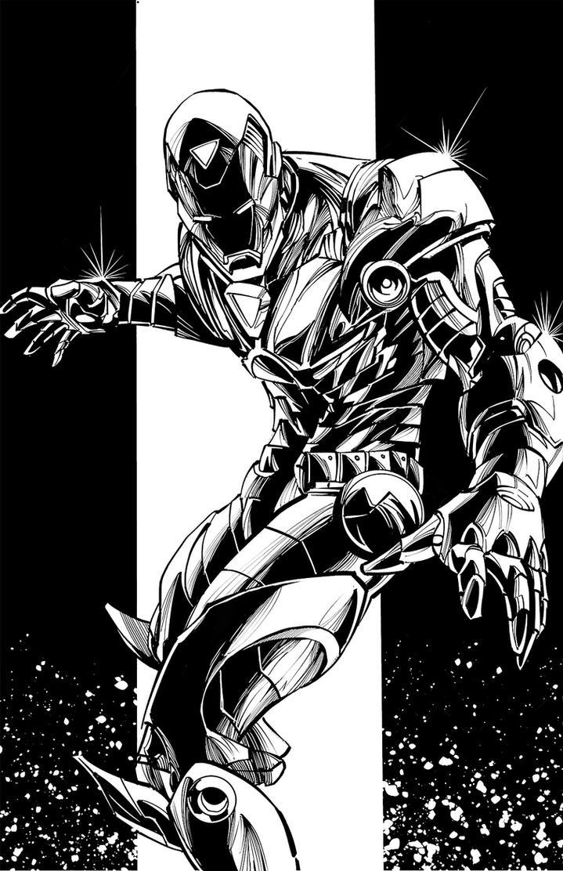 Ironman by benjonesart