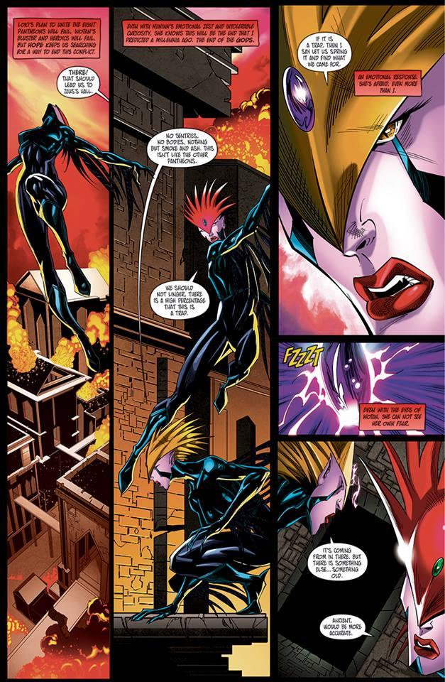 Asgard Page 4 by benjonesart