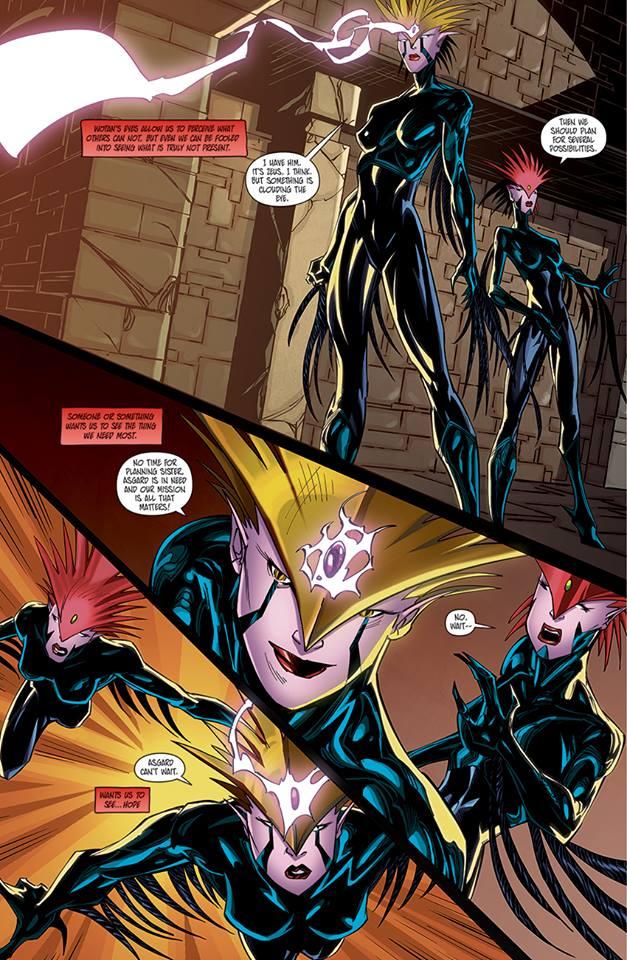 Asgard Page 5 by benjonesart