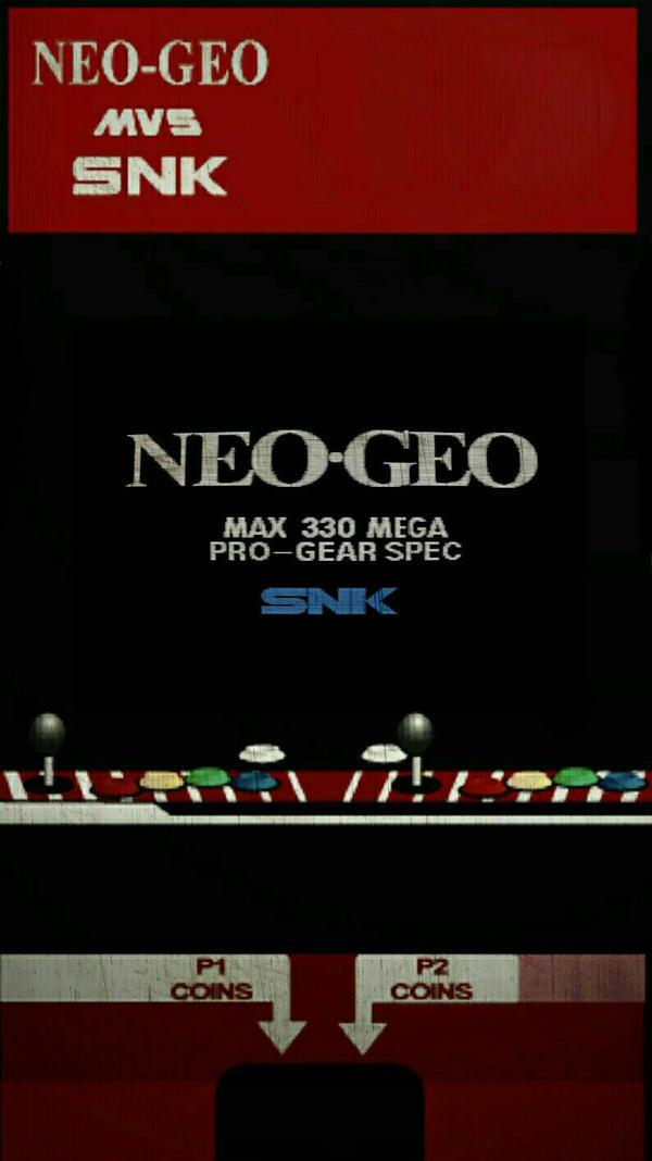 Snk Neo Geo Arcade Cabinet Wallpaper By Lorancatex On Deviantart
