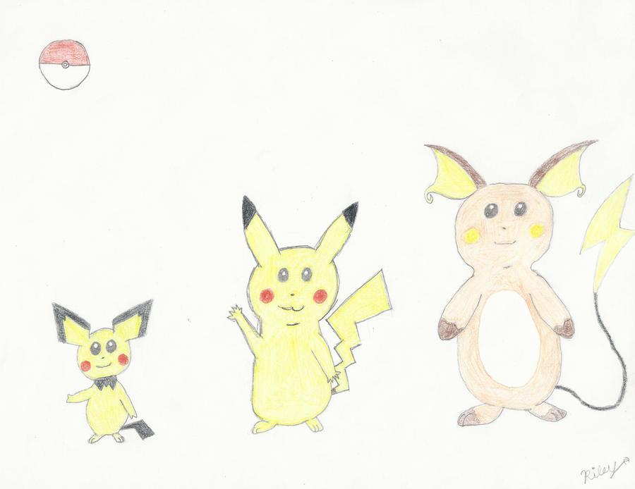 Pokemon Evolution Pikachu   www.imgkid.com - The Image Kid ...