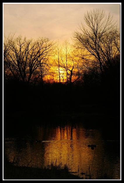 River Sunset by jasonksmith