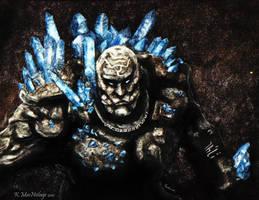Dragon Age:  Origins - Shale by wanderer1812