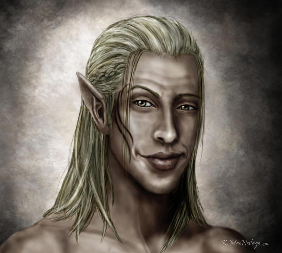 DAO: Zevran by wanderer1812