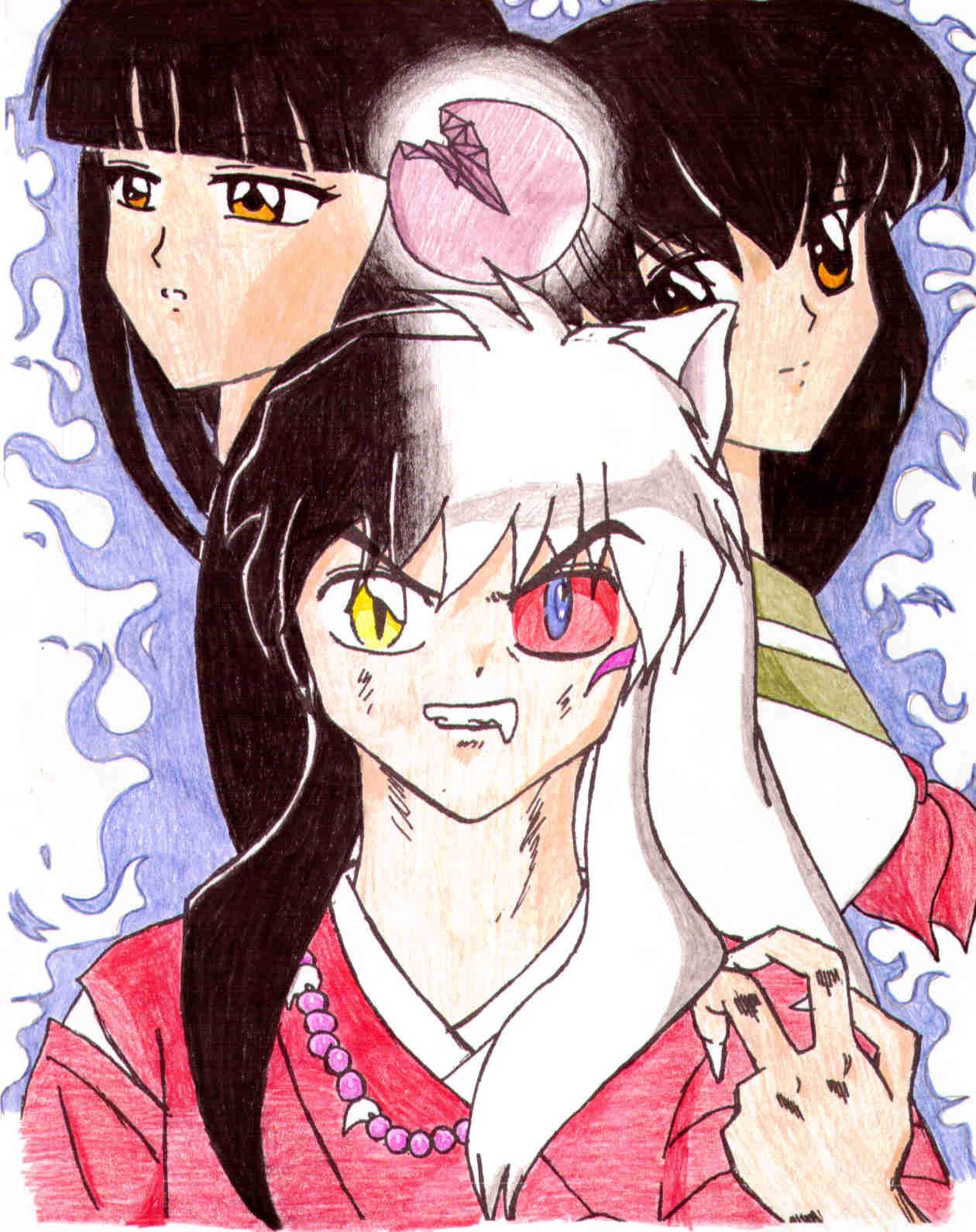 Inuyasha Half Demon
