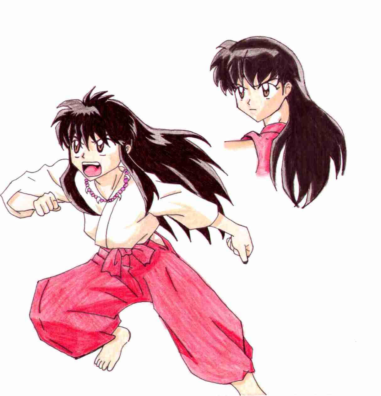 Human Inuyasha By Fred-Weasley On DeviantArt