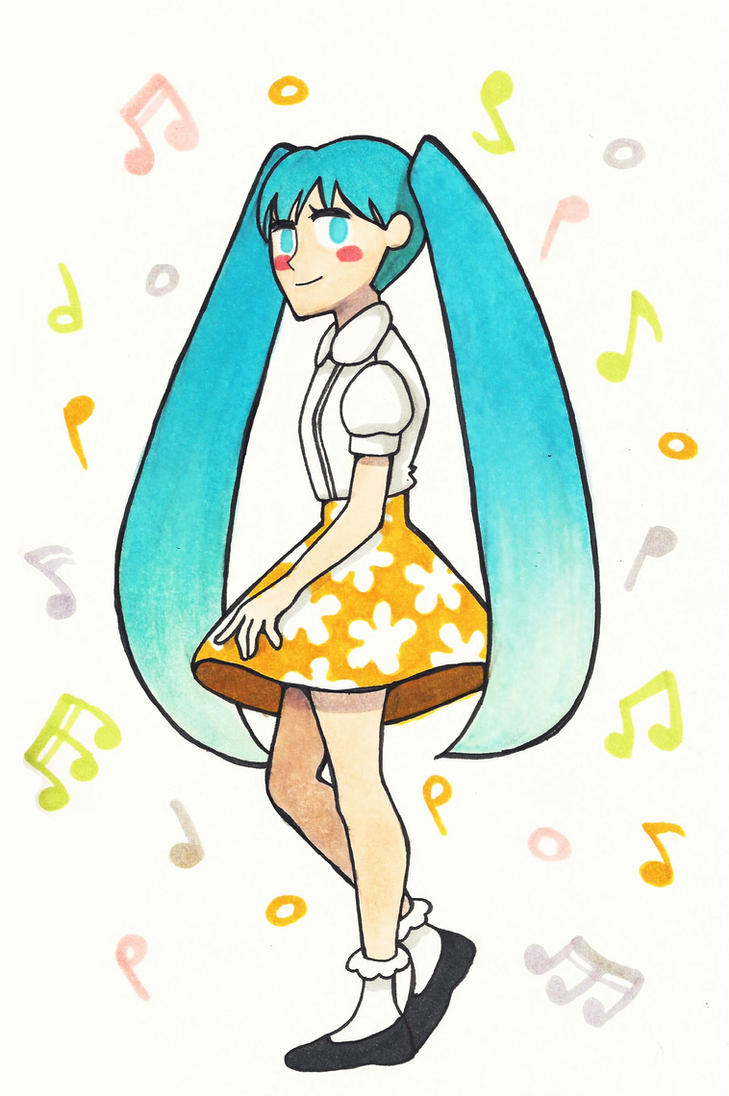 Miku Music by Fred-Weasley