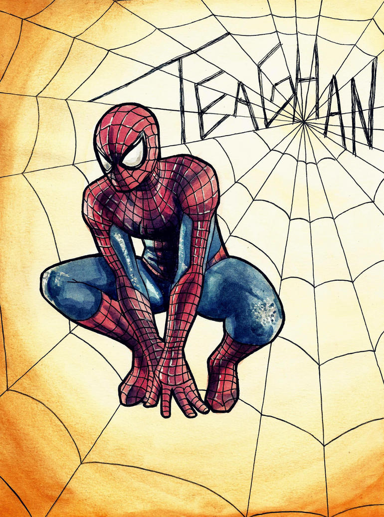 Spiderman by Fred-Weasley