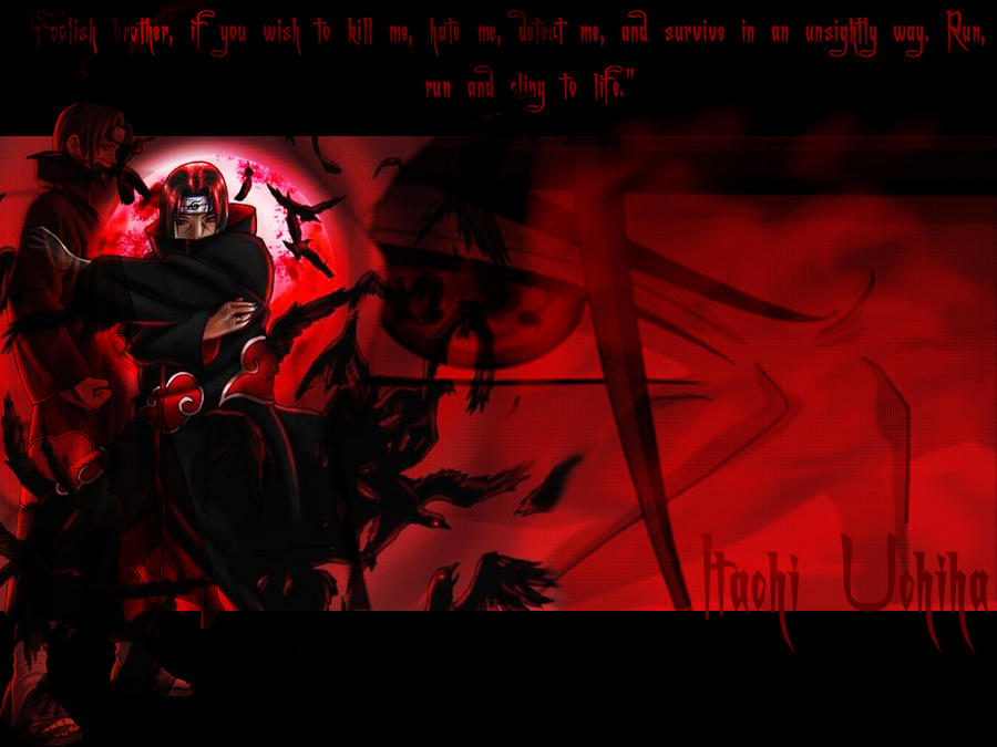 itachi wallpaper. Itachi Wallpaper by