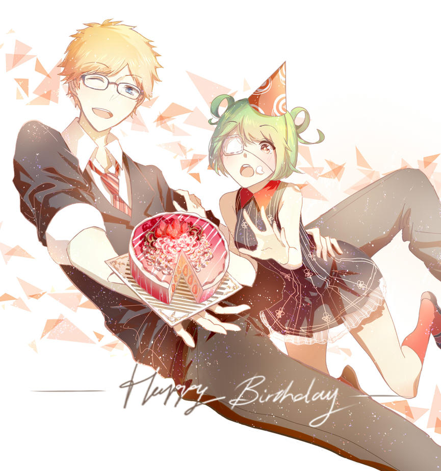 Happy Birthday Mono !! by cirel0209