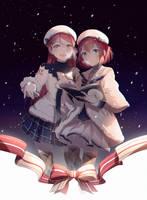 Sakurauchi Riko x Kurosawa Ruby Xmas 2017 by cirel0209