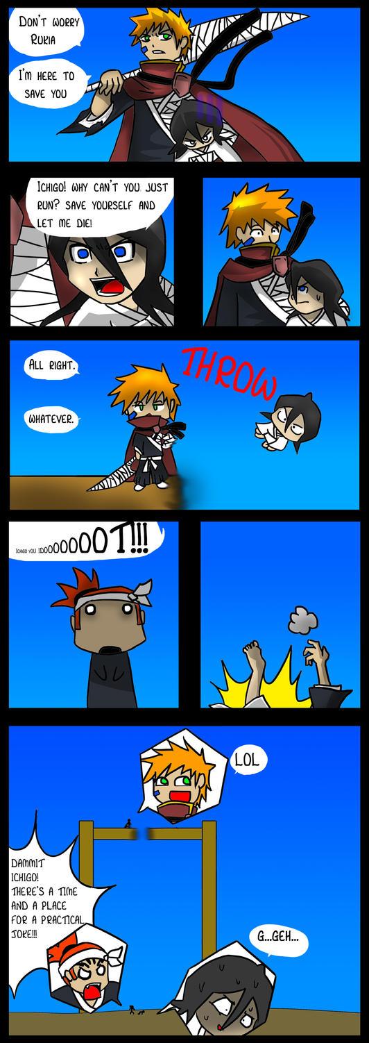 Bleach: Lets save Rukia by DukeStewart