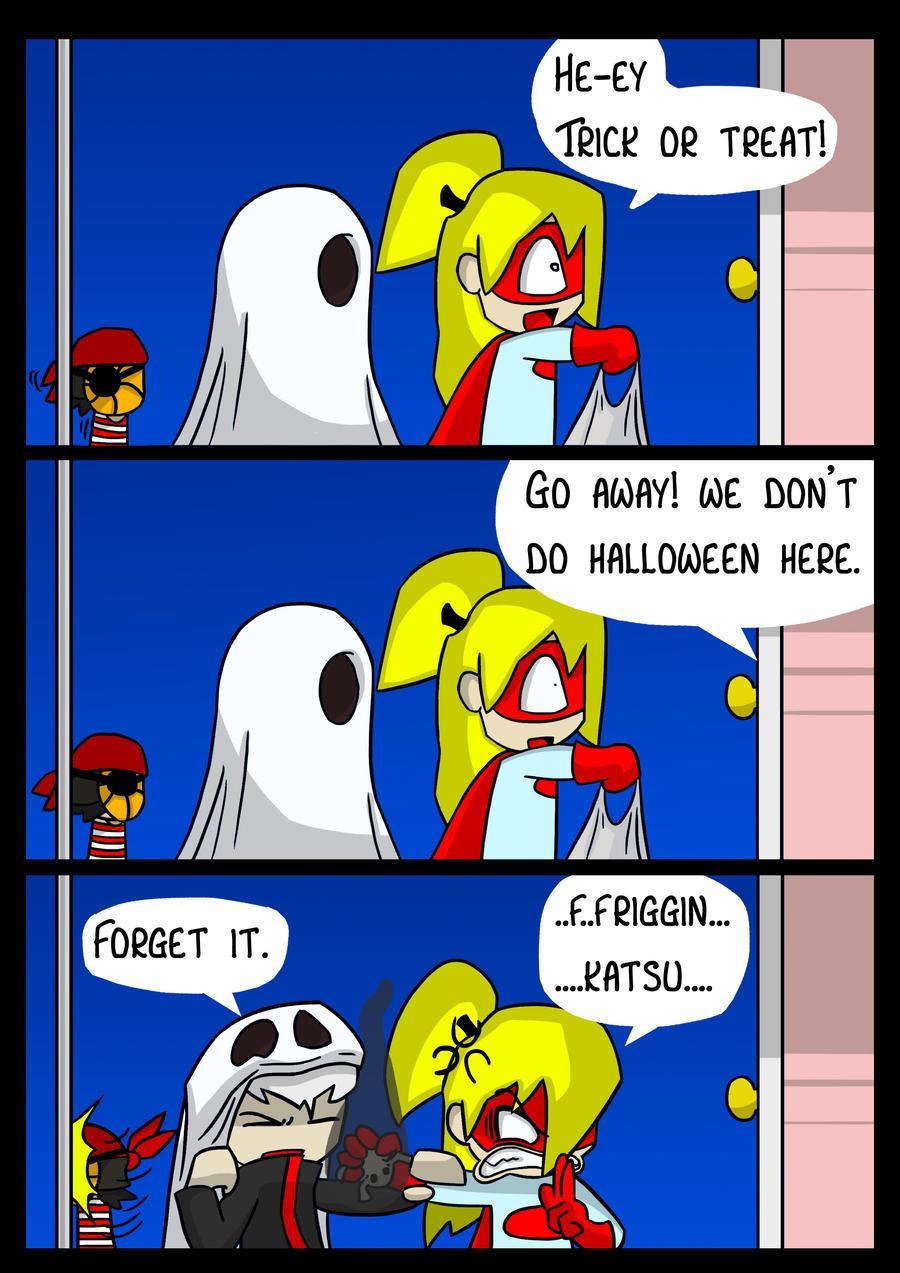 Naruto Halloween by DukeStewart